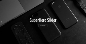 SuperHero Slider widget by Without Code