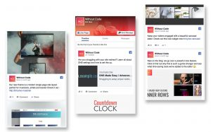 Facebook Feed widget
