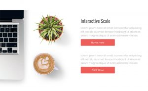 interactive scale widget